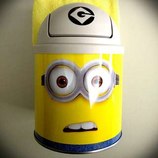 Despicable Me Minion Swivel-Top Container