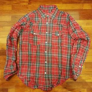 Battenwear Western Flannel Shirt - Size S - Made In USA