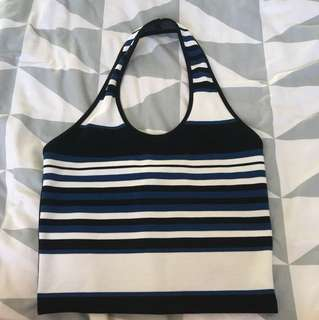 Topshop halter neck top
