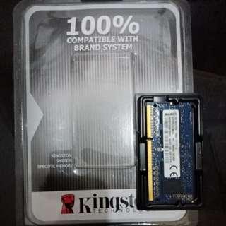 Kingston DDR3 L 2GB laptop Memory Card