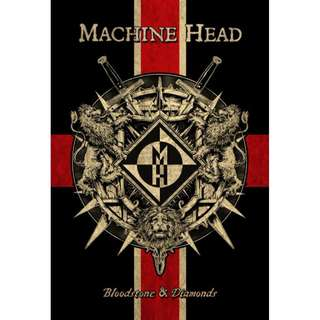 Machine Head ‎– Bloodstone & Diamonds Limited Edition Mediabook CD