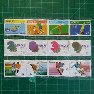 [精選套裝]1996-98 澳門新票三套