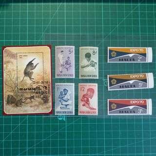 [精選套裝]外國郵票一份