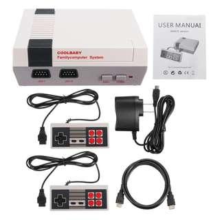 Classic Retro Mini Game Console 8-Bit Retrofitted for HDMI with 600 Games