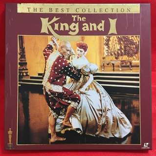 Laser Disc movie The King and I