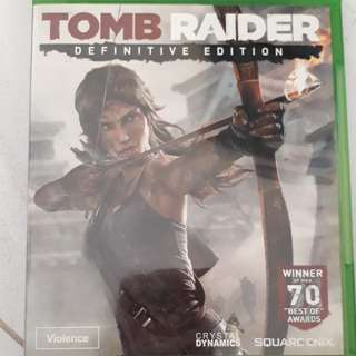 Xbox one game ( TOMB RAIDER DEFINITIVE EDITION