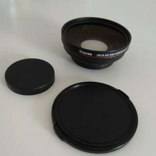 Vitacon HD Pro-Series 52mm 0.5X Wide Angle Lens with Macro (Japan)