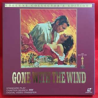 Laser Disc movie Gone with the Wind