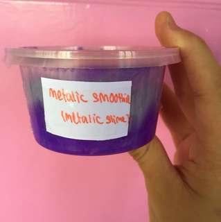 Metalic smoothie slime