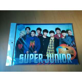 Super Junior 12 cut poster