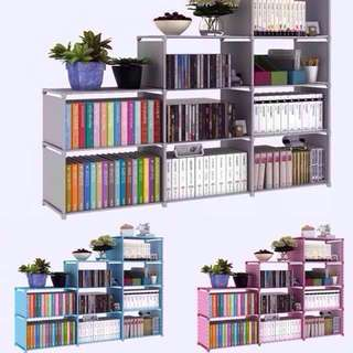 DIY High Quality 9-Tube Book Shelf 3 Row