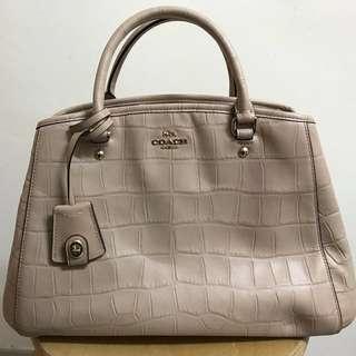 全新 Coach 鱷魚皮 Shoulder Bag