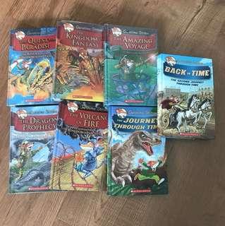 Geronimo Stilton Kingdom of Fantasy and Journey Through Time Series
