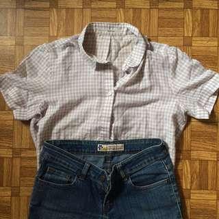 Tartan Shirt Grey