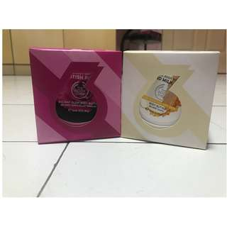 Body Shop Shower and Body Butter Set
