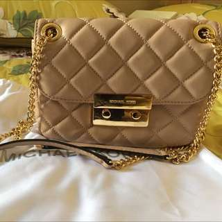 *Reduced price* Michael Kors small sloan quilted leather crossbody or shoulder bag