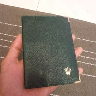Authenthic Rolex Passport Holder