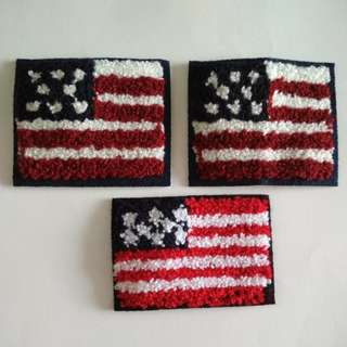 Sew on patch - Flag