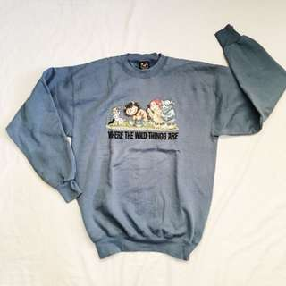 WHERE THE WILD THINGS ARE Sweat Shirt
