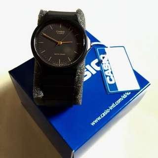 Jam Tangan Casio Watches Black MQ-24-1ELDF (Original 100%)