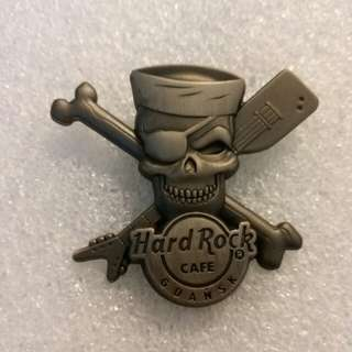 Hard Rock Cafe Pins ~ GDANSK HOT & RARE 2014 SKULL SERIES!