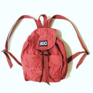 復古 Asics backpack 背囊 書包