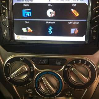 perodua axia radio original dvd gps touch screen