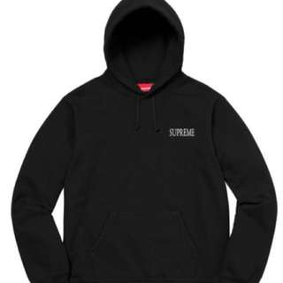 #Supreme #Decline Hooded Sweatshirt #Black #M size #100% real and new, 多谷