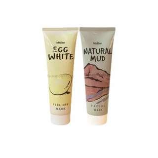 Natural Mud & Egg White