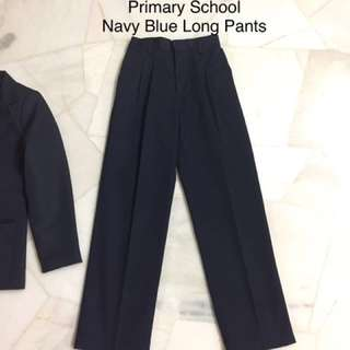 School Uniform Navy Blue Long Pants (very new!)