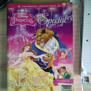 Disney Princess jumbo magazine with stickers