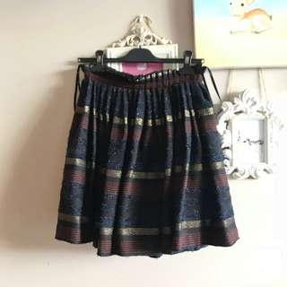 Aje woollen skirt size 8