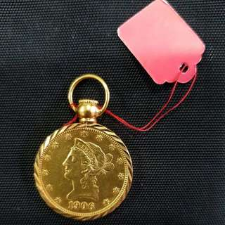1906 old USA Gold Coin