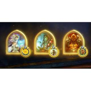 Hearthstone Gold Portrait
