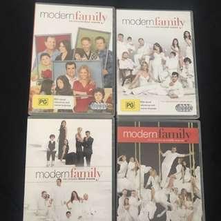 4 seasons of modern family