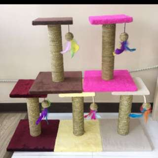 Cat Scratch Post instock climbing stand pole