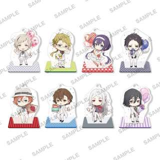 Bungo Stray Dogs DEAD APPLE - Acrylic Stand Figure 8Pack BOX(Pre-order)