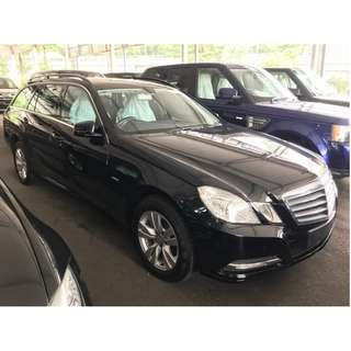 2012 Mercedes Benz E200 Estate (Wagon) - Unregistered