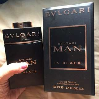 bvlgari men in black 100 ml segel
