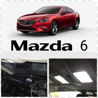 Mazda 6 Cabin LED