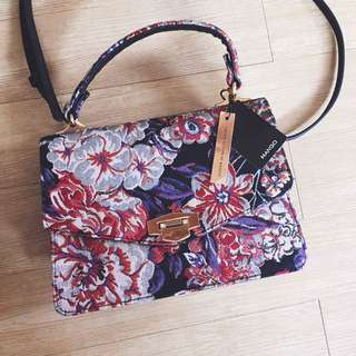 *Limited Edition MANGO Embroidery Sling Bag