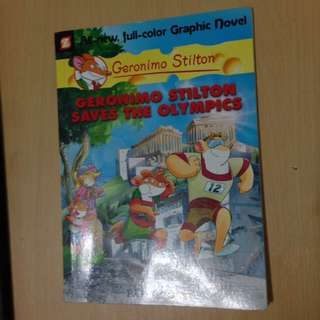 Geronimo Stilton: Saves the Olympics