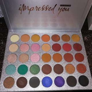 Beauty Glazed 35 Color Eyeshadow Palette (pre order)