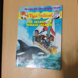 Thea Stilton: The Secret of the Whale Island