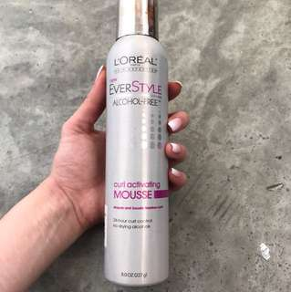 L'oréal Everstyle Curl Activating Mousee