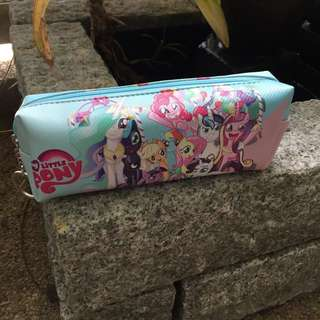 Trending lovely my little pony Pen Bag Pencil Case Pouch Stationery Cosmetic Makeup Bag Fashion