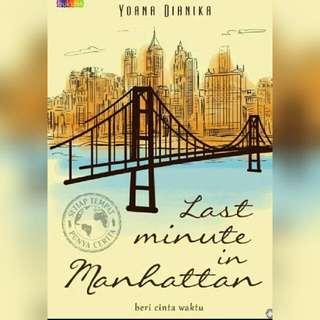 Ebook Last Minute In Manhattan