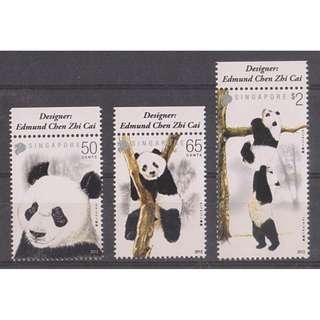 Singapore 2012 Panda stamps