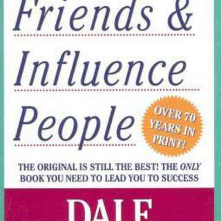 How to Win Friends and Influence People By (author)  Dale Carnegie