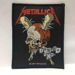 Metallica - Damage Inc Woven Patch Band Merch